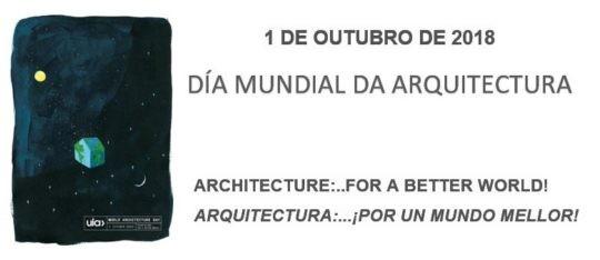 1 de outubro   Día Mundial da Arquitectura