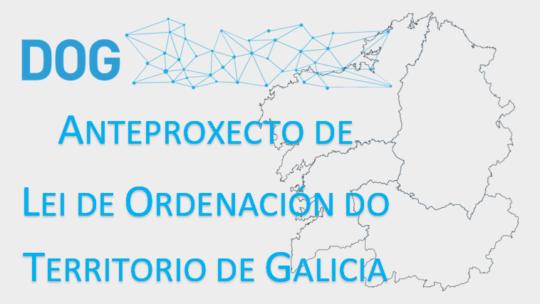 Información pública do anteproxecto de Lei de Ordenación do Territorio de Galicia