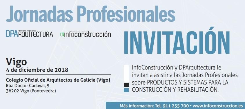 INFOCONSTRUCCIÓN. Jornada técnica. Productos y sistemas para la construcción y rehabilitación. Vigo