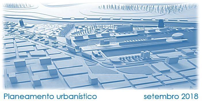 Planeamento urbanístico – setembro 2018