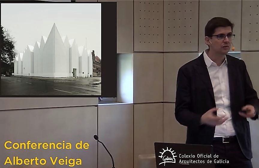 """Conferencia de Alberto Veiga na xornada """"Novos colexiados, novas perspectivas"""""""