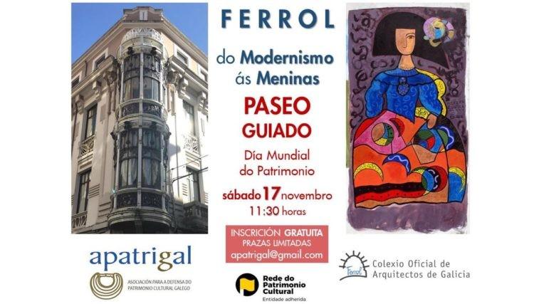 Día Internacional do Patrimonio Mundial | Paseo guiado en Ferrol