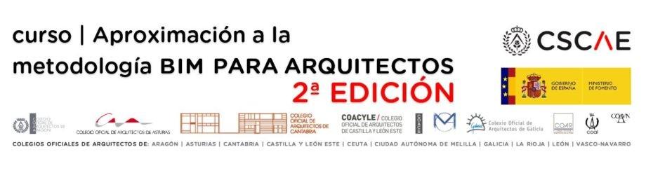 curso | Aproximación á metodoloxía BIM para arquitectos. Aberta matrícula 2ª edición.