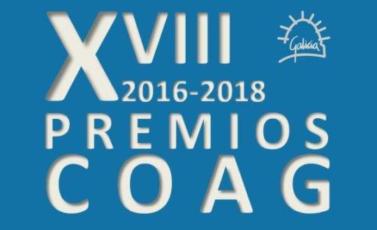 Convocatoria dos XVIII PREMIOS COAG DE ARQUITECTURA