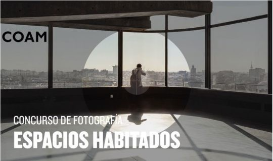 """Concurso de fotografía en Instagram """"Espacios Habitados COAM"""""""