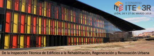 II Congreso ITE + 3R   León 26 y 27 de marzo