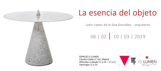 """Exposición """"La esencia del objeto"""" en el Madrid Design Festival 19"""