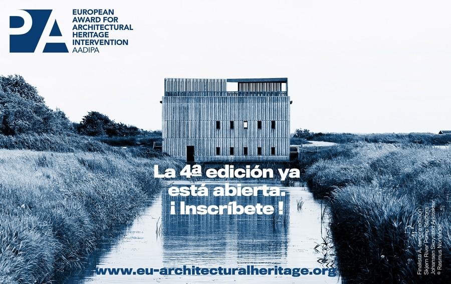 Premio Europeo de Intervención en el Patrimonio Arquitectónico convocado por AADIPA