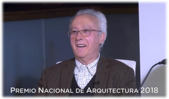 Manuel Gallego Jorreto, Premio Nacional de Arquitectura 2018