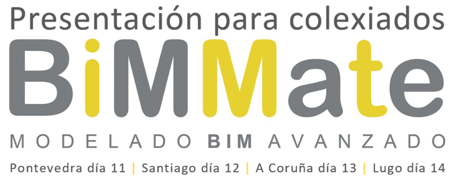 """Presentación da plataforma """"BIMMate"""""""