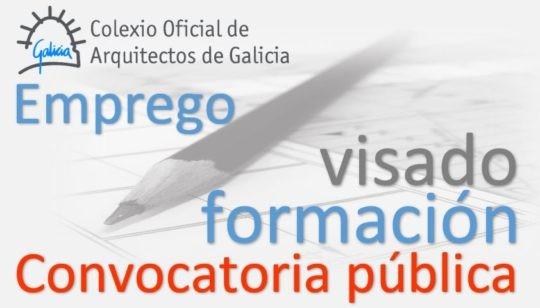 Convocatoria para a contratación dun/dunha arquitecto/a para a Delegación da Coruña