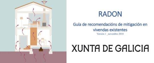GAS RADÓN. Guía de recomendacións de mitigación en vivendas existentes