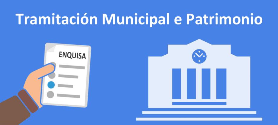 Enquisa sobre tramitación Municipal e Patrimonio