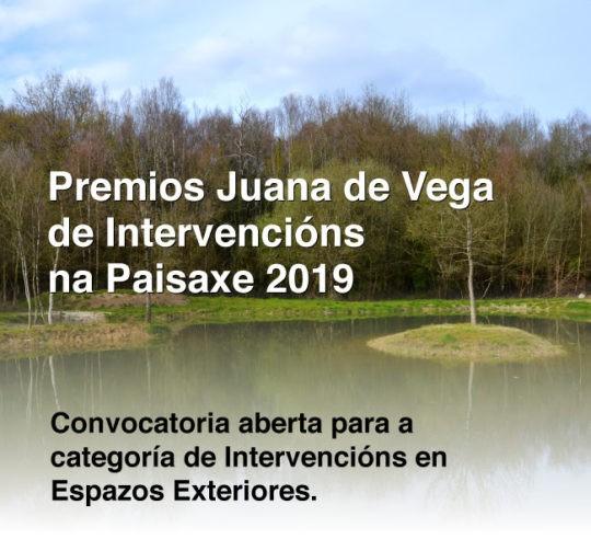 Premios Juana de Vega de Intervencións na Paisaxe 2019