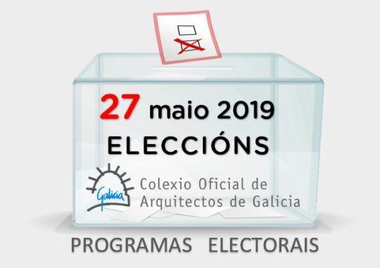 Eleccións 2019: Programas electorais das candidaturas. Voto por correo