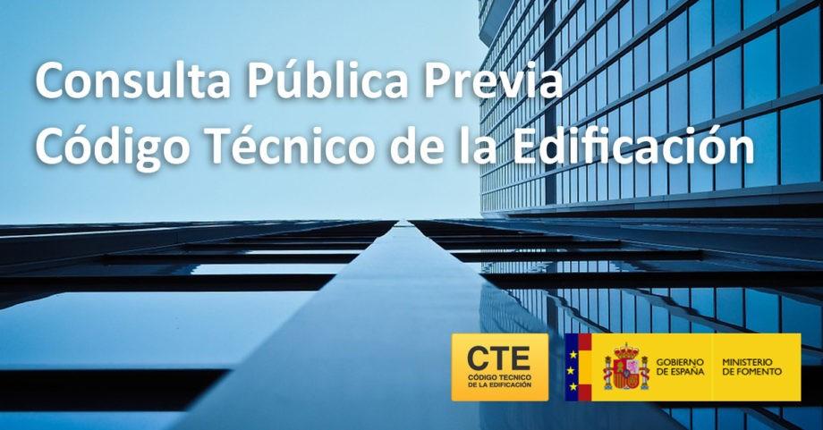 Consulta pública previa sobre el Código Técnico de la Edificación