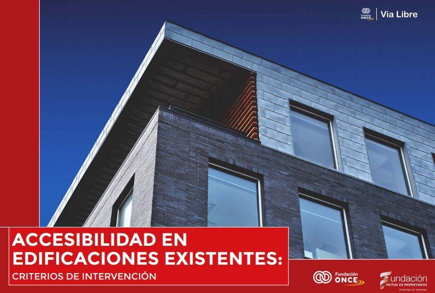 Publicación «Accesibilidad en edificios existentes. Criterios de intervención»