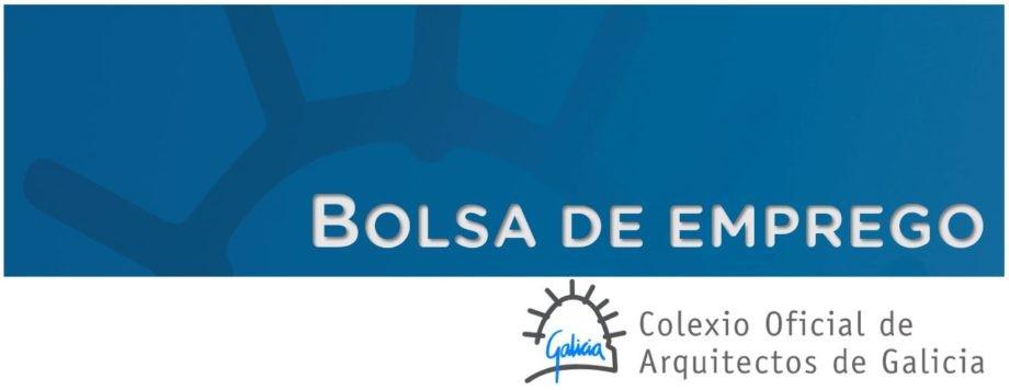 Bolsa de emprego para redacción dun informe na cidade de Pontevedra
