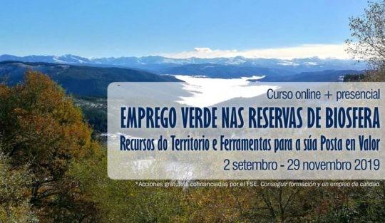 Emprego Verde en Reservas de Biosfera: Curso online + presencial