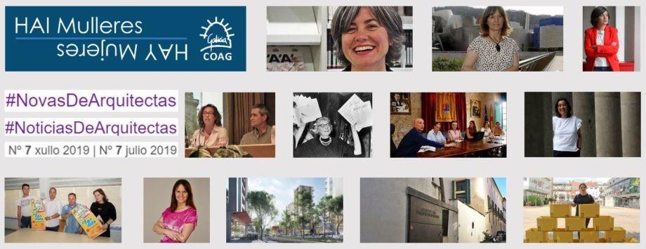 Dispoñible o Nº 7 de #NovasDeArquitectas #NoticiasDeArquitectas