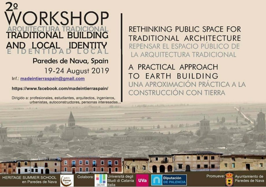 2ª Workshop Internacional Arquitectura Tradicional e Identidad Local