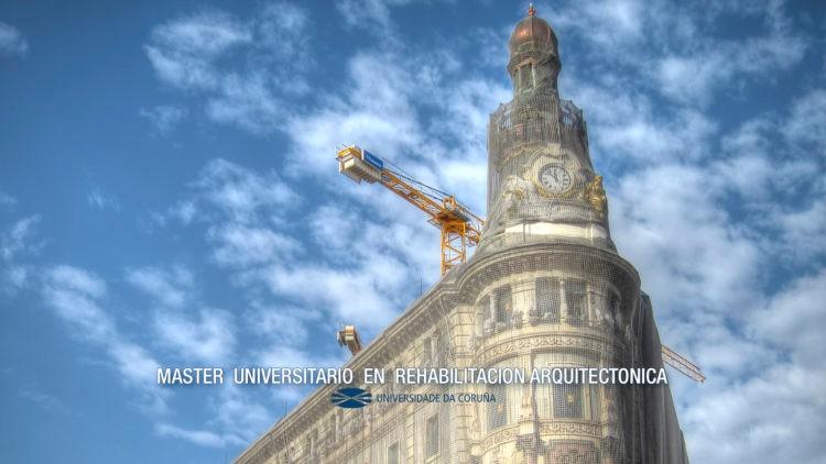 Máster Universitario en Rehabilitación Arquitectónica 2019-2020