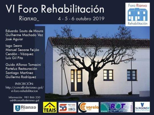 VI Foro Rehabilitación Rianxo