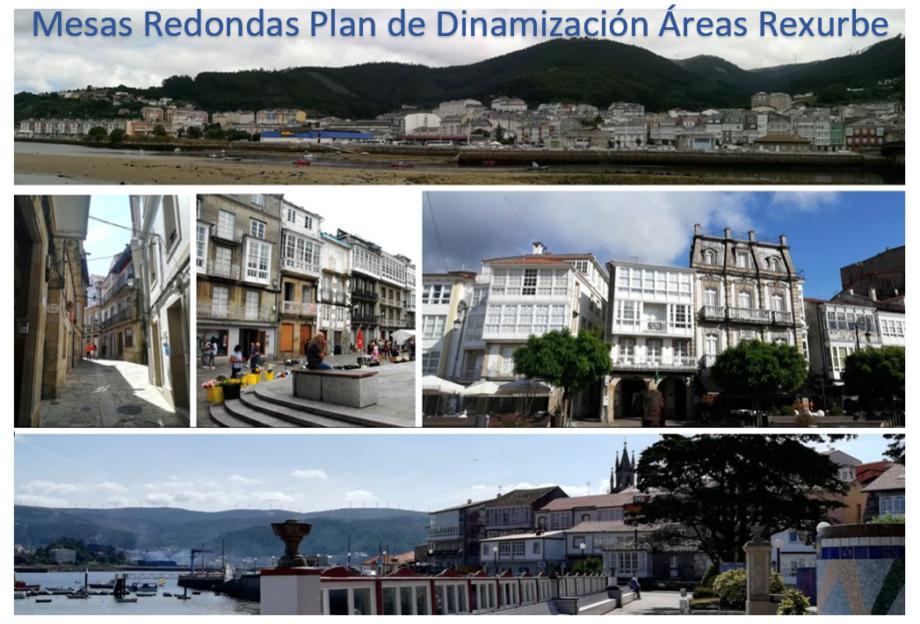 Axenda semanal Mesas Redondas Plan de Dinamización Áreas Rexurbe