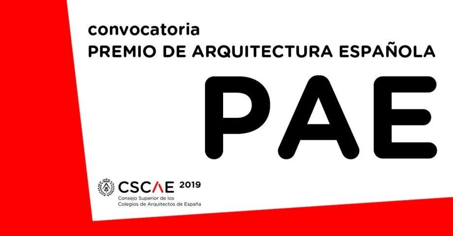 Convocatoria del Premio de Arquitectura Española