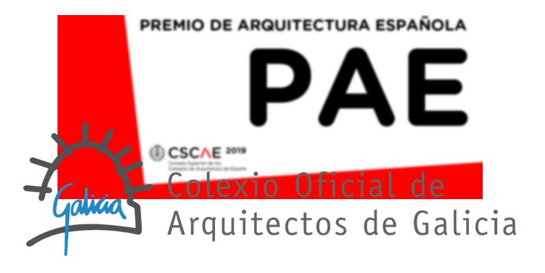 Presentación de propostas para os Premios do CSCAE 2019