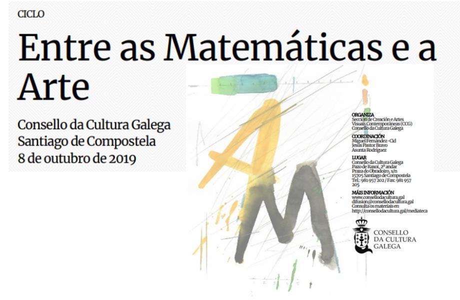 Ciclo «Entre as Matemáticas e a Arte»
