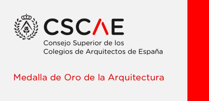 Alberto Campo Baeza, Medalla de Oro de la Arquitectura