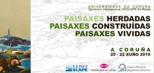 UNISCAPE En-Route. A Coruña 2019