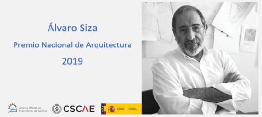 Álvaro Siza, Premio Nacional de Arquitectura 2019