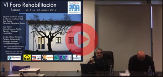 Conferencia Eduardo Souto de Moura – VI Foro de Rehabilitación de Rianxo