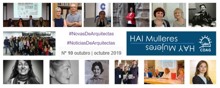 Dispoñible o nº 10 de #NovasDeArquitectas #NoticiasDeArquitectas