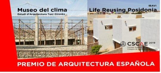 Fallo del Premio de Arquitectura Española 2019