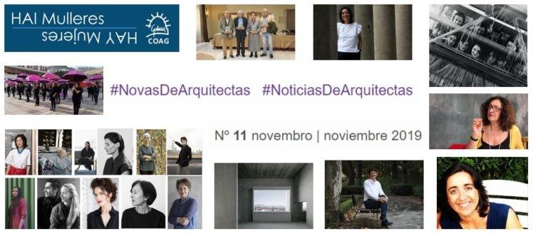 Dispoñible o nº 11 de #NovasDeArquitectas #NoticiasDeArquitectas