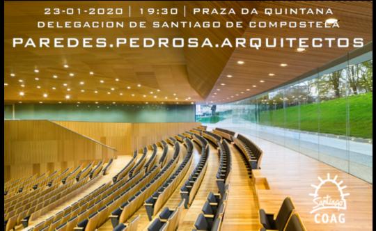 Conferencia PAREDES PEDROSA ARQUITECTOS