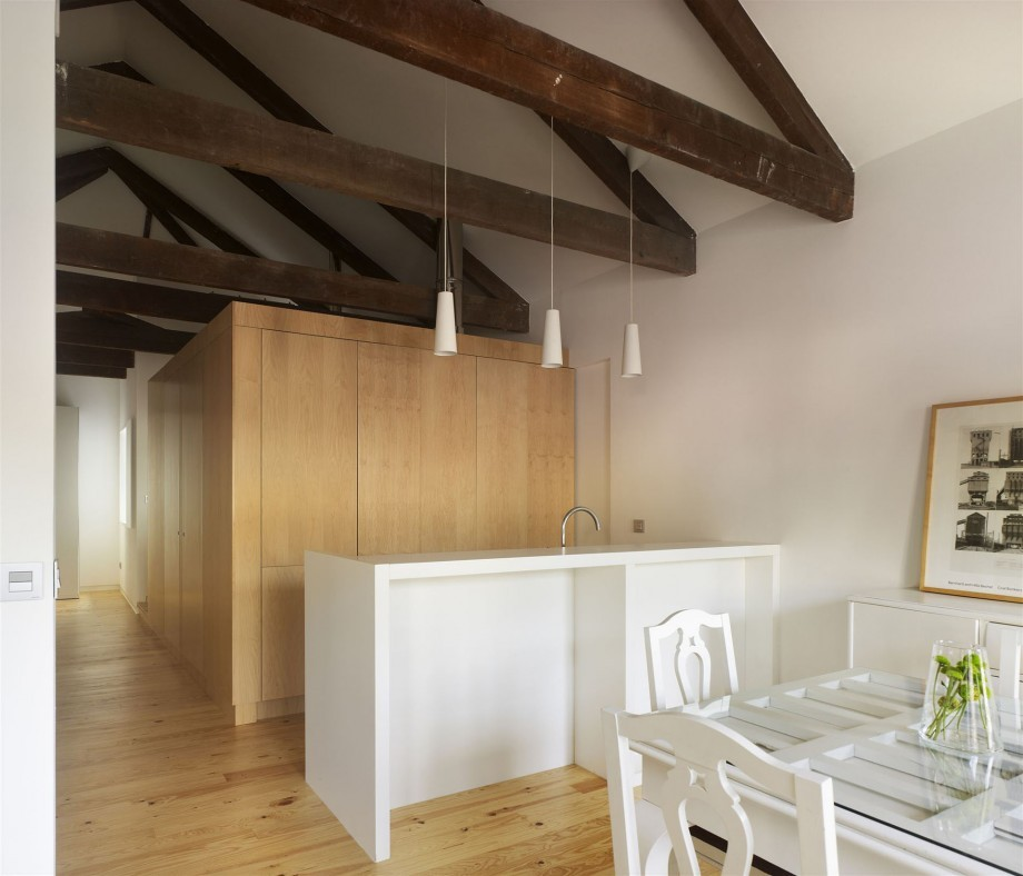 Rehabilitación de vivienda en Príncipe. Vigo