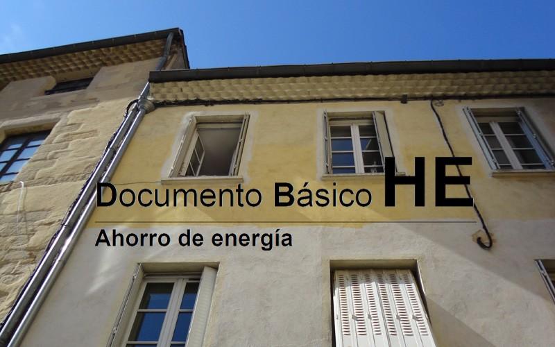 Recompilación de Documentación oficial do DB-HE-2013 de ·Aforro de Enerxía·