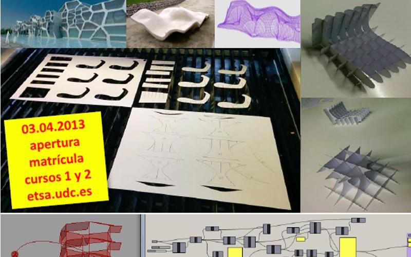 Cursos de Fabricación Digital. ETSAC. A Coruña