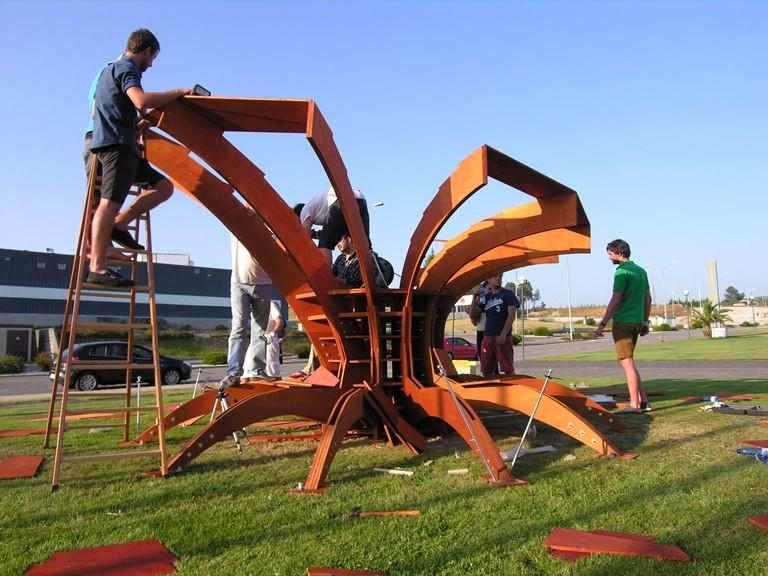 Prototipo Lab 2014_Workshop. Obradoiros de Arquitectura e Deseño Paramétrico, Fabricación CNC e Construción a escala 1:1. Santiago de Compostela, 14-20 de xullo