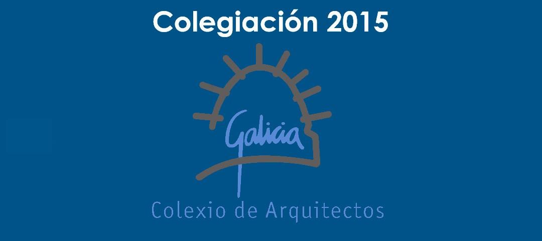 Colexiación 2015
