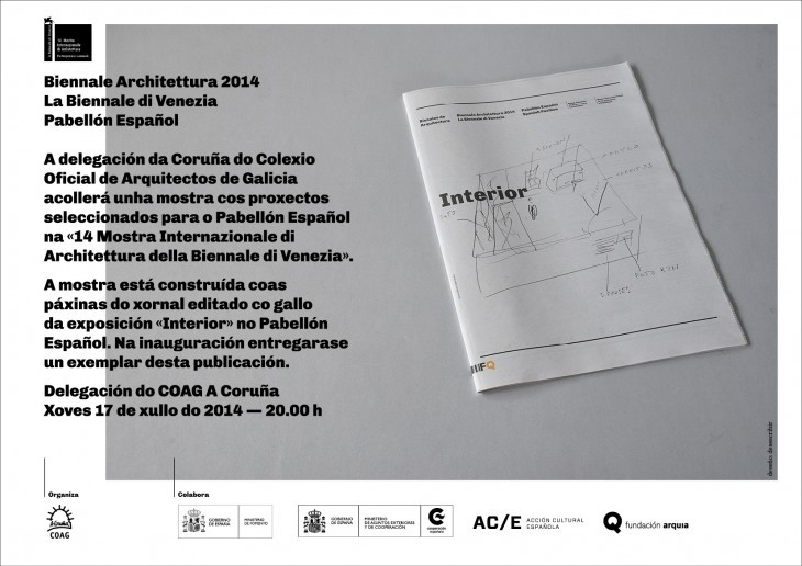 Biennale Architettura 2014. La Biennale di Venezia. Pabellón Español