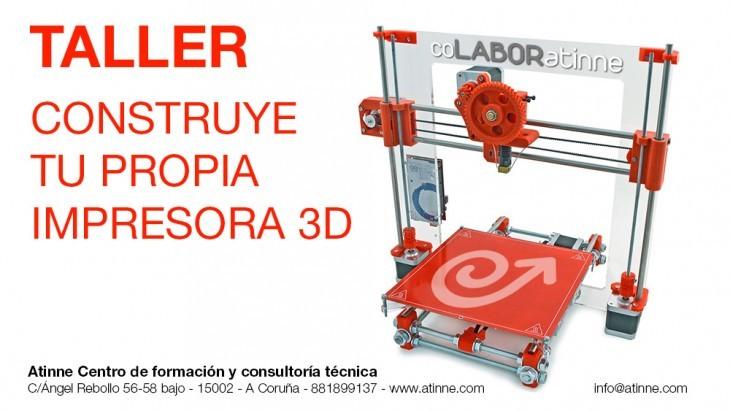 Obradoiro: Constrúe a túa impresora 3D