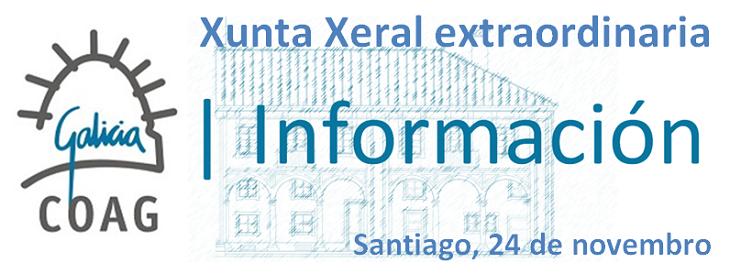 Acordos da Xunta Xeral extraordinaria de 24 de novembro de 2014