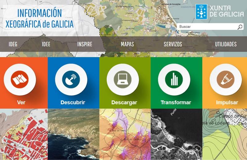 Información Xeográfica de Galicia