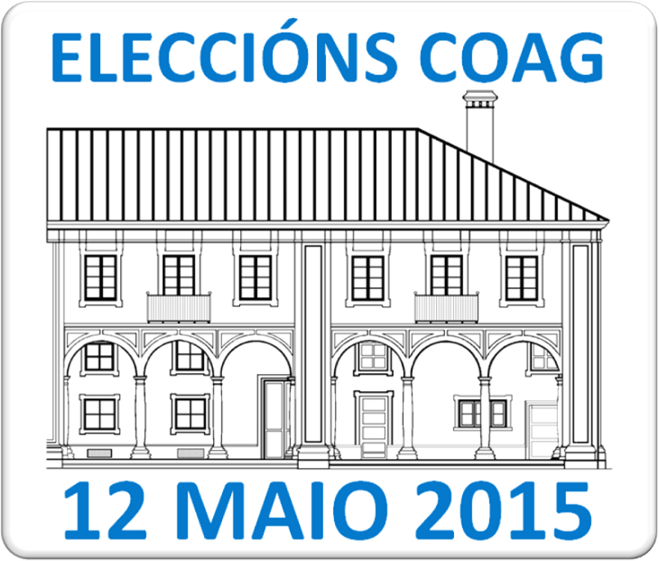 Convocatoria de eleccións no COAG para o 12 de maio de 2015
