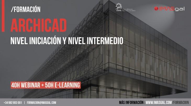 ARCHICAD INTENSIVO_ CONVENIO COAG- IMASGAL